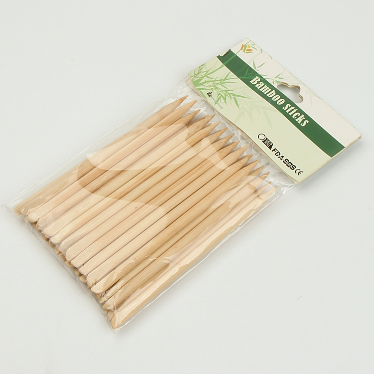 Wholesale Flexible Nail Use Round Bamboo Stick Manicure