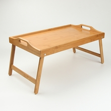 Tray hot sale bamboo folding tray folding legs