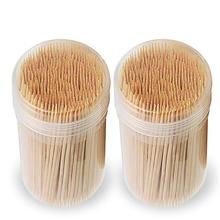 High quality bamboo and wood cocktail toothpick is suitable for daily use