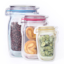 Mini Doypack Plastic Food Grade Mason Jars Package Bags