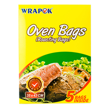 Wrapok Microwavable Greaseproof Oven Roasting Bags