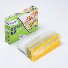 Wrapok Plastic Zip Lock Bag Food Grade Transparent Food Storage Bag