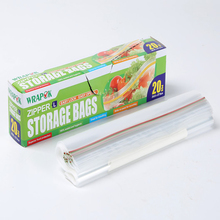 Kitchen Use Food Grade Ziplock Bag Airproof Plasic Food Storage Zipper Bag