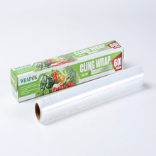 Clear LDPE Food Packaging Stretch Film Soft Plastic Fresh Cling Film