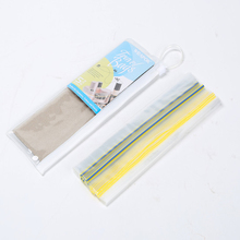 Cosmetic Package Clear Plastic Ziplock Bag LDPE Resealable Zipper Bag