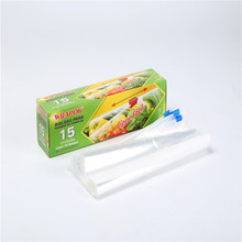 Food Grade Zipper Bag LDPE Waterproof Resealable Ziplock Bag With Slider
