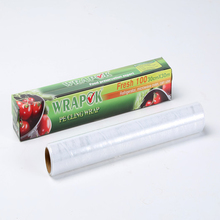 Uso de cocina LLDPE Food Wrap film Food Grade PE film