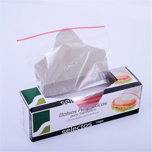 qualité alimentaire airproof custom plastique transparent sac sandwich sachet