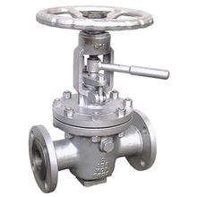 Flange Connection Lift Plug Valve