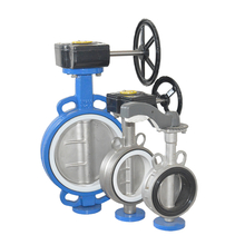 China Supplier Cast Iron Wafer Butterfly Valve