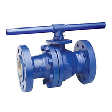 Floating Ball Valve With Pneumatic Actuator