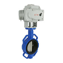 High Performance Motorized Wafer Butterfly Valves