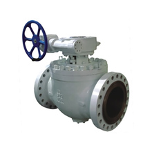 High Pressure Flanged Top Entry Ball Valve