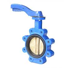 Manufacture Ductile Iron Wafer Lug Butterfly Valve