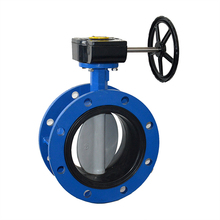 Professional Manufacture Flanged Butterfly Valve