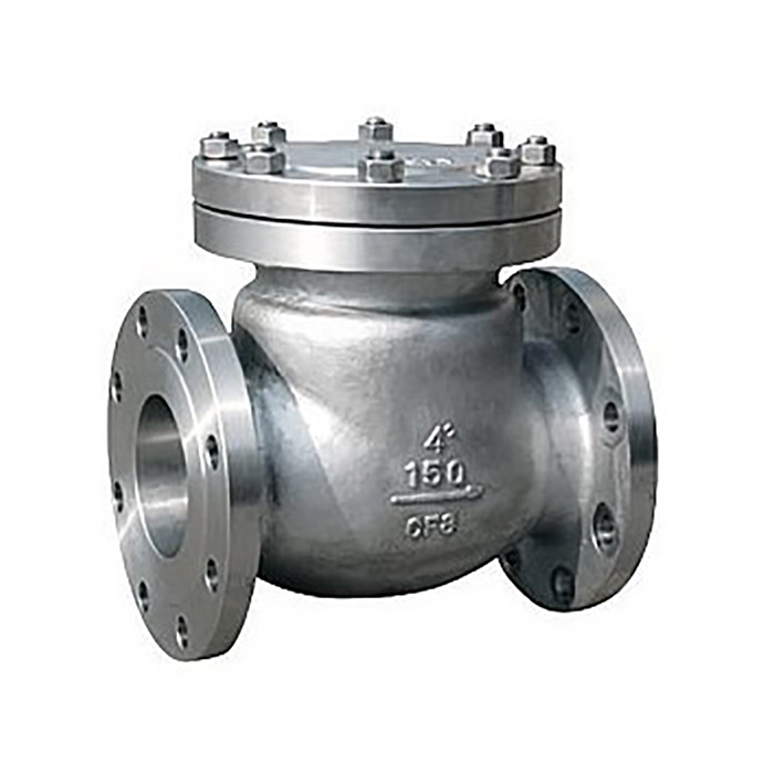 Swing Type Check Valve  Single Plate Valve