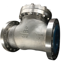 Vatac Carbon Steel Flanged Nozzle Axial Check Valve