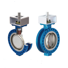 Soft Sealing Butterfly Valves Triple Eccentric Hand Wheel