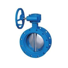 Handwheel Operated Center Line  Flange Butterfly Valve