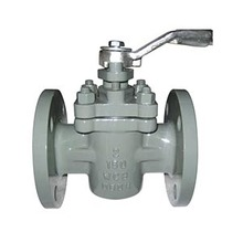 Stainless Steel Sleeve Type Twin Soft Seal Flange Plug Valve