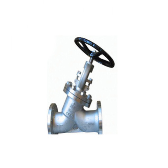 High Pressure Seal Y-Pattern Swivel Plug Type Globe Valve