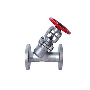 Stem Bolted Bonnet Stainless Steel Y-Pattern Globe Valve