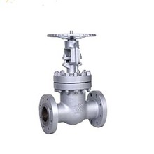 Cast steel rising stem handwheel operated flange gate valve