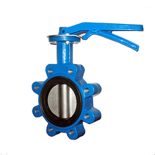 Cast Iron Manual Concentric Lug Wafer Butterfly Valve