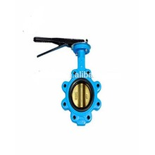 High performance cast iron 6 inch wafer butterfly valve