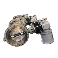 API 609 Pneumatic Or Electric Actuated Triple Eccentric Flange End Stainless Steel CF8M Disc Butterfly Valve