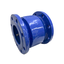 Flanged Non Slam Nozzle Flow Check Valve Axial Flow