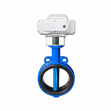 New Products Dn50-500 ss Double Flange Butterfly Valve