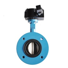 Water System U-shaped Type Center line Flanged Butterfly Valve