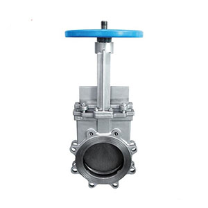 Stainless steel lug cast steel knife gate valve