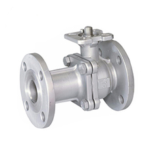 Standard stainless steel full bore 20k flange balance ball valve