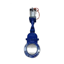A216 WCB dn400 ductile iron knife gate valve factory price