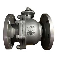 Api6d ansi cast carbon steel a216 wcb 150lbs floating flanged end ball valve