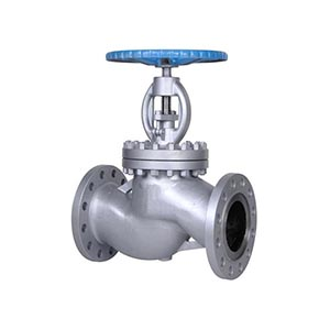 Din stainless steel bellows sealed globe valve with electric actuator
