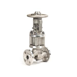 Manual Flanged DN15 DN400 Bellows Sealed Stop Globe Valve