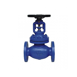 US standard API bellows sealed globe valve with electric actuator