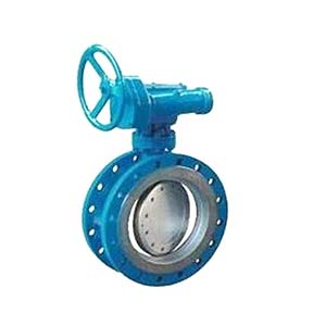 High quality DN150 handle wheel center line flanged butterfly valve