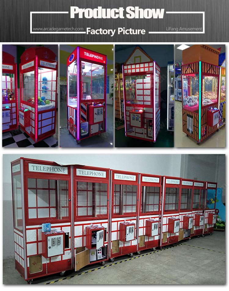 <toy crane arcade machine>