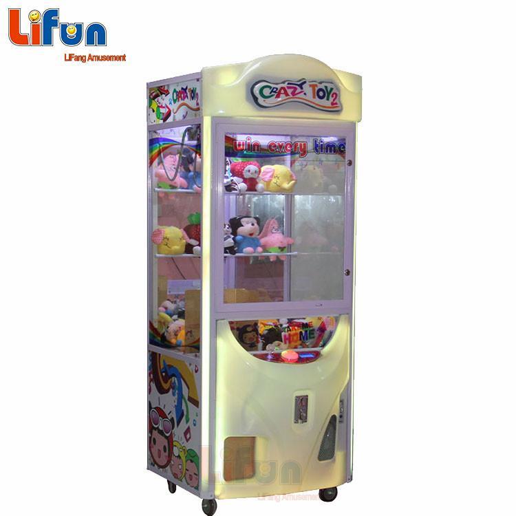 Toy Claw Crane Machine Crazy Toy 2 Arcade Grabber Toy