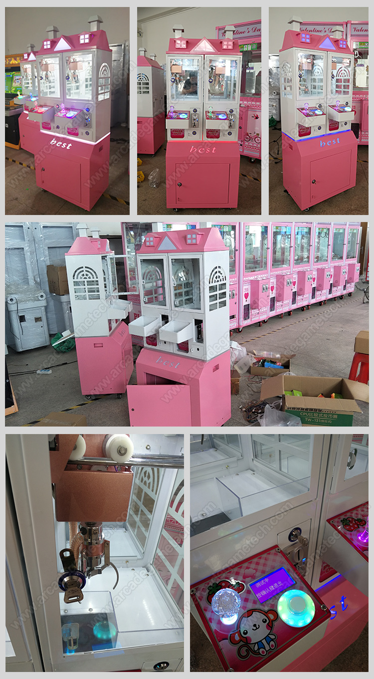 <Mini Toy Claw Arcade Machine>
