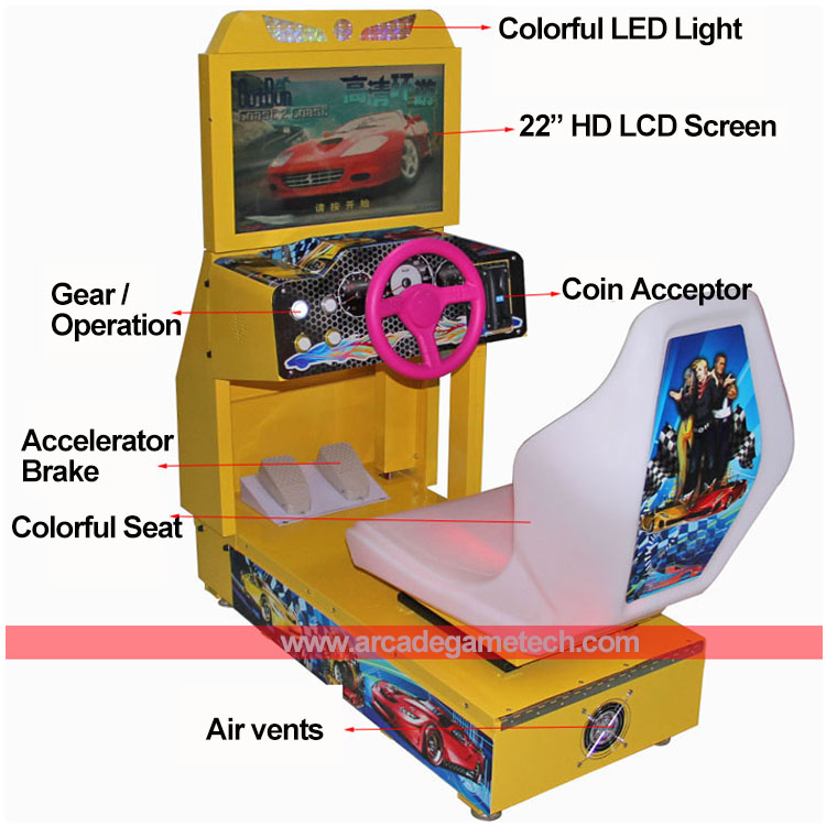Kids OutRun Racing Game