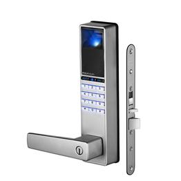 PL808 fingerprint handle lever door lock