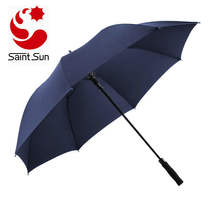 60 Inch Automatic Open Golf Umbrella - Extra Large Canopy Umbrella