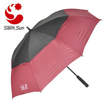 Auto open windproof vented golf umbrella
