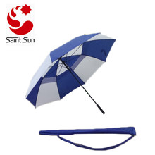 Automatic Open Golf Umbrella vented canopy