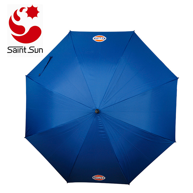 Double layer fabric golf umbrella